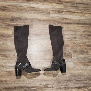 Michael Kors Body Suade Over The Knee Boots